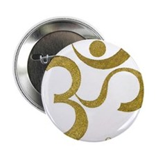 "Om Shanti 2.25"" Button (100 pack)"