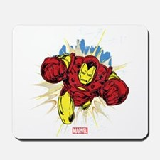 Grunge Iron Man Mousepad