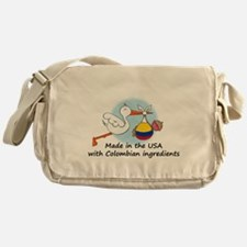stork baby col 2.psd Messenger Bag
