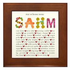 SAHM Framed Tile