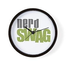 NERD SWAG Wall Clock
