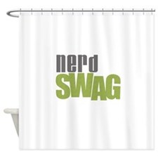 NERD SWAG Shower Curtain