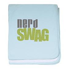 NERD SWAG baby blanket