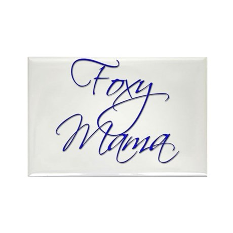 Foxy Mama 18 Rectangle Magnet (100 pack)