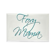 Foxy Mama 19 Rectangle Magnet