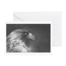 Unique Bird prey Greeting Card
