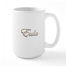 Gold Eula Mugs