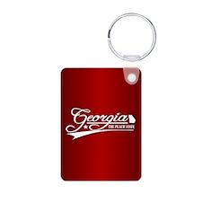 Georgia State of Mine Keychains