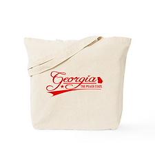 Georgia State of Mine Tote Bag
