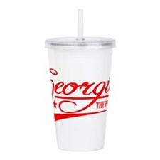 Georgia State of Mine Acrylic Double-wall Tumbler