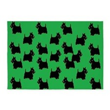 Scottish Terriers 5'x7'Area Rug