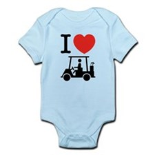 I Heart (Love) Golf Cart Body Suit