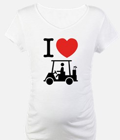 I Heart (Love) Golf Cart Shirt