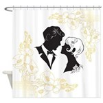 Roaring Twenties Lovers Shower Curtain