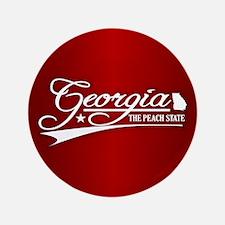 "Georgia State of Mine 3.5"" Button"