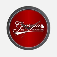 Georgia State of Mine Wall Clock