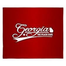 Georgia State of Mine King Duvet