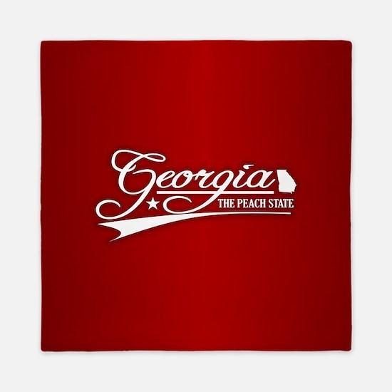 Georgia State of Mine Queen Duvet