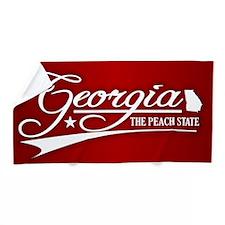 Georgia State of Mine Beach Towel