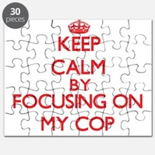 Keep Calm by focusing on My Cop Puzzle