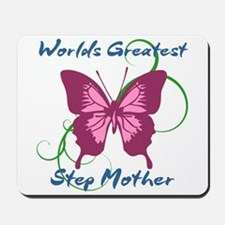 World's Greatest Step Mother Mousepad