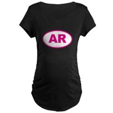 Arkansas AR Euro Oval T-Shirt