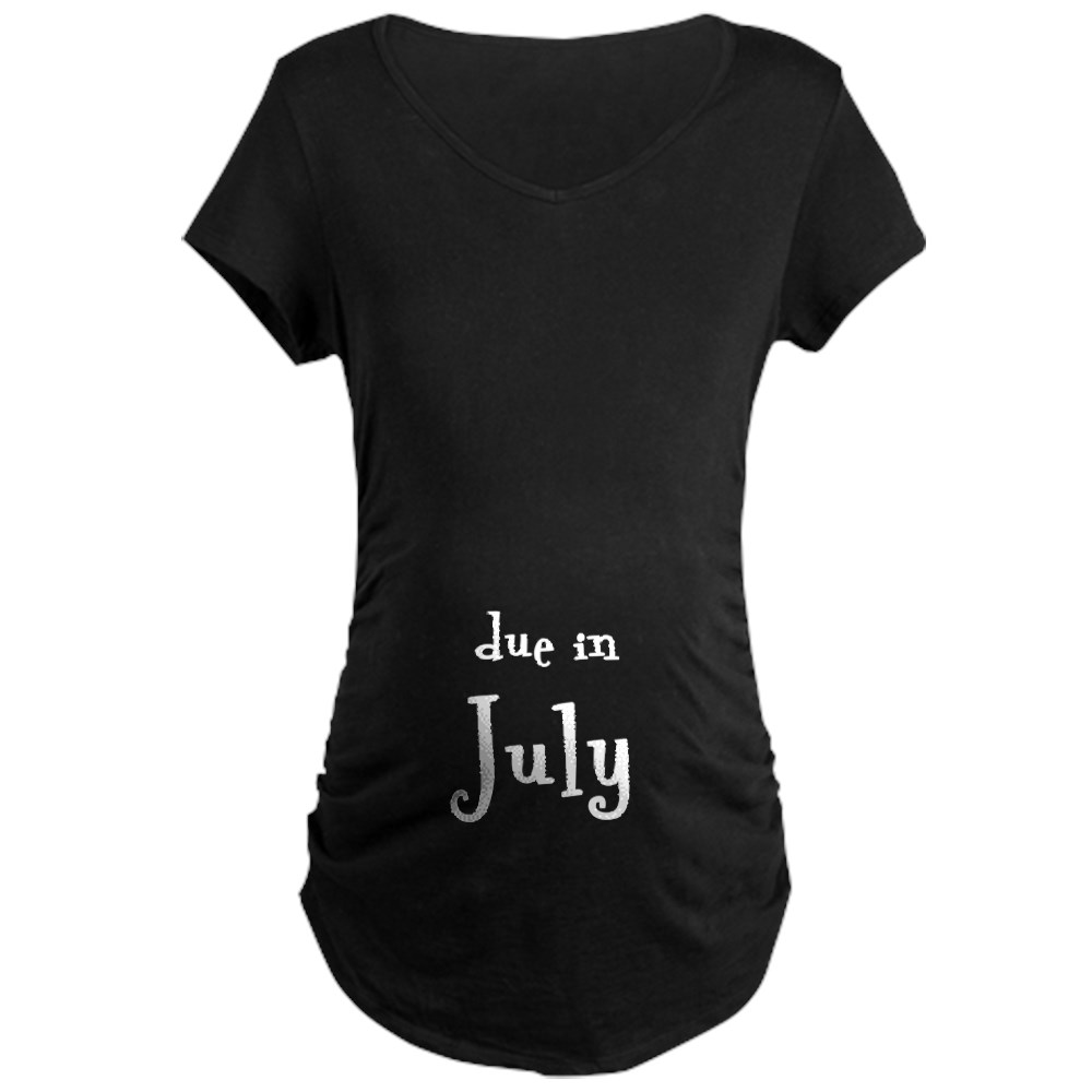 Due in July Maternity Tee