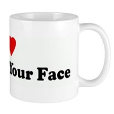 I Love Punching Your Face Mug