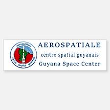 Aerospatiale Guiana Bumper Bumper Sticker