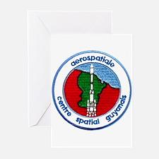 Aerospatiale Guiana Greeting Cards (Pk of 10)