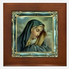 Our Lady of Sorrows Framed Tile