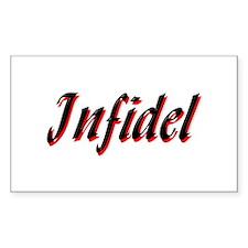 Infidel: Infidel Rectangle Decal