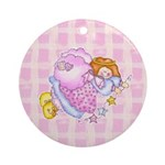 Star Angel Ornament (Round)