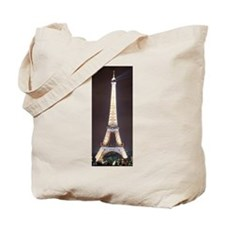 Sparkling Eiffel Tower at Nig Tote Bag