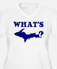 What's UP? Plus Size T-Shirt