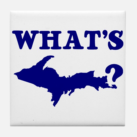 What's UP? Tile Coaster