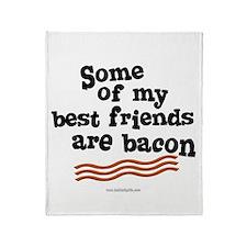 Best Friends... Throw Blanket