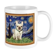 Starry Night & French Bulldog Small Mug
