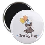 Birthday Boy Party Bear Magnet