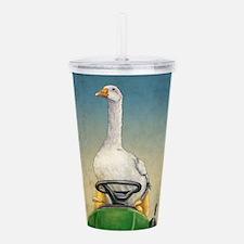 Embden Goose Acrylic Double-wall Tumbler