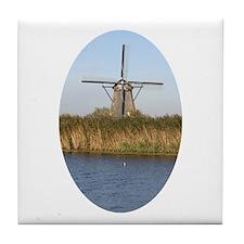 Dutch mill Tile Coaster