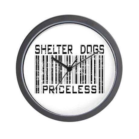 Shelter Dogs Priceless Lover Wall Clock