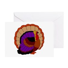 Thanksgiving Turkey Greeting Cards