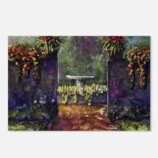 garden wall Postcards (Package of 8)