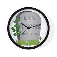 R.I.P. Oldsmobile Wall Clock