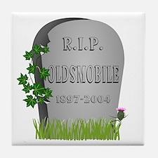 R.I.P. Oldsmobile Tile Coaster