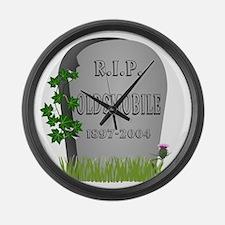 R.I.P. Oldsmobile Large Wall Clock