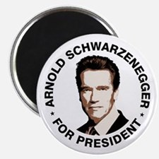 Arnold For President Magnet