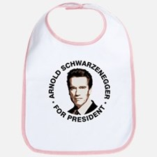 Arnold For President Bib