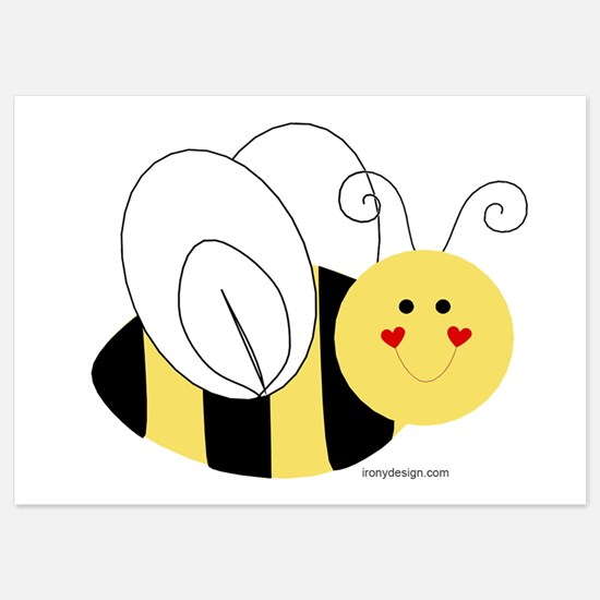 Cute Bee Invitations